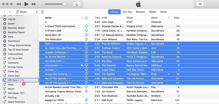 add a song from itunes to iphone