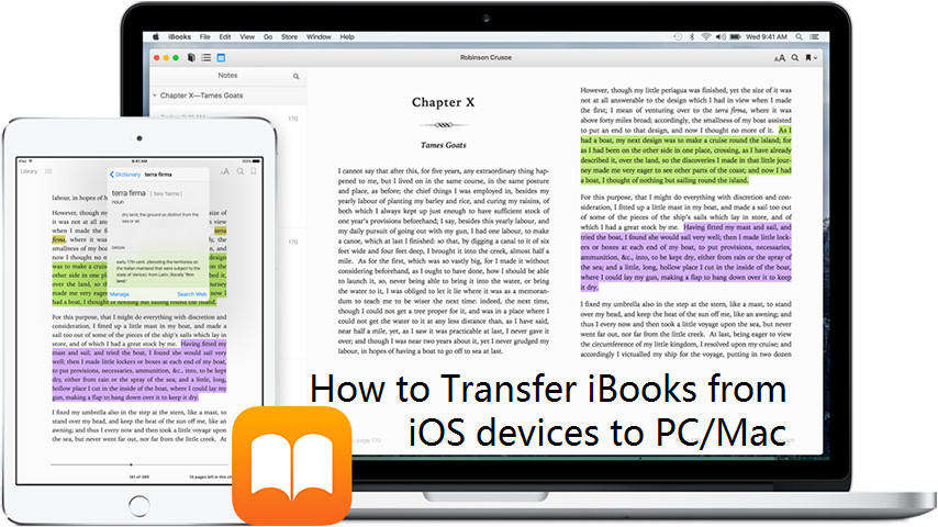 Top 3 Ways to Transfer iBooks from iPhone/iPad to PC/Mac
