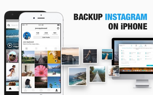 Top 2 Ways to Backup Instagram Photos from iPhone