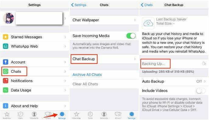 download icloud backup whatsapp
