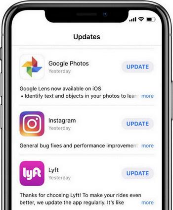 check app update