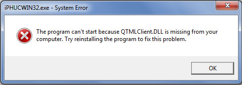 RecBoot Qtmlclient.dll is Missing, How to Fix