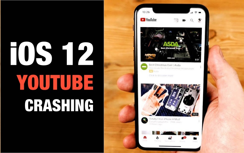 Top 6 Methods to Fix YouTube Crashing iOS 12/12 1 Issue