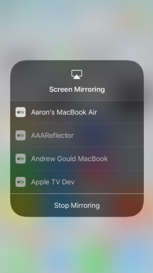 choose mac mirror