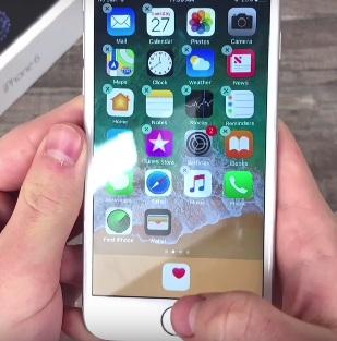 drop app to dock  iphone