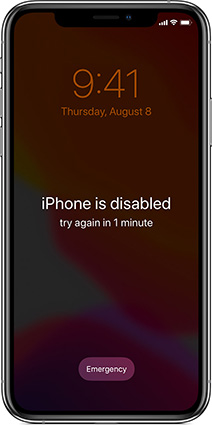 Top 3 Solutions to Fix 'iPhone is Disabled Connect to iTunes' Easily