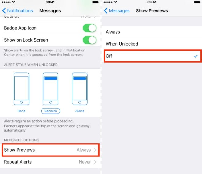 How to hide messages app on iphone