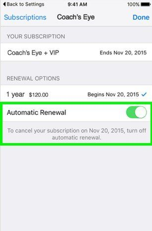 How to turn off autopay on iphone