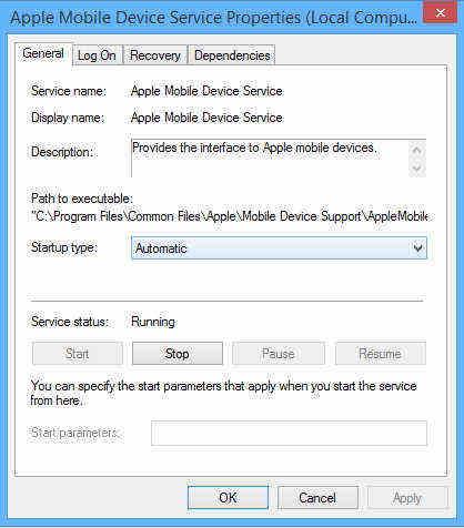 reset apple mobile service