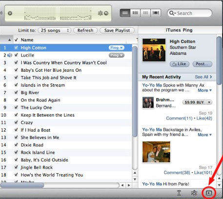 How do i get my sidebar back on itunes — photo 1
