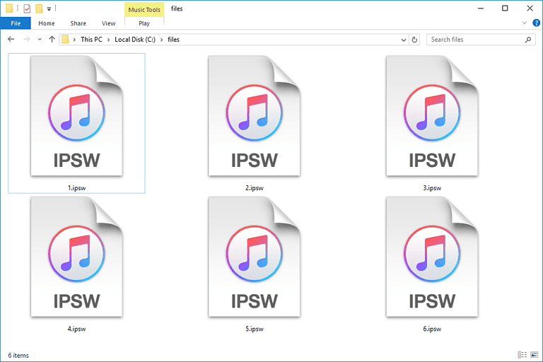 iOS Restore: Select & Restore Custom IPSW Using iTunes