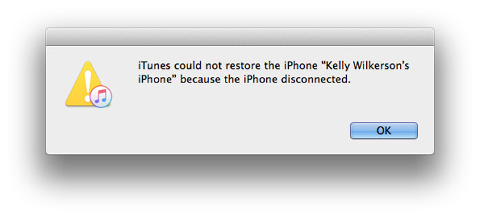"How to Fix ""iTunes could not restore the iPhone because the"