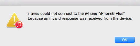 How to Fix iTunes Cloud Not Connect to iPhone Because Invalid Response