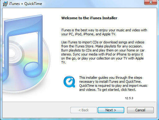 apple itunes download for pc