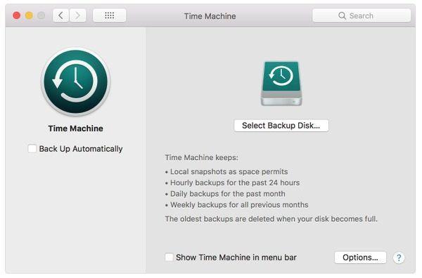 Backup macbook to icloud