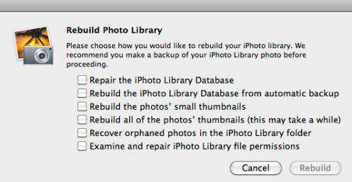 2 Quick Ways to Repair Crashed iPhoto