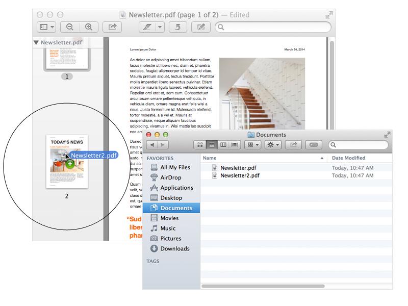 How to Merge PDF Files on Mac with Movavi PDF Editor