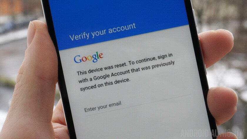 bypass google account verification