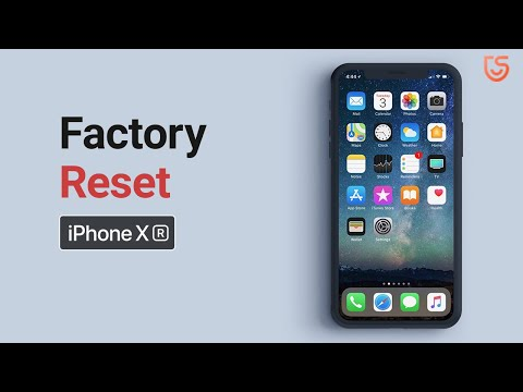 How to Reset iPhone XR without Passcode and iTunes 2020