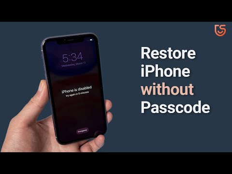 How to Restore iPhone 11/11 Pro without Passcode or iTunes 2020