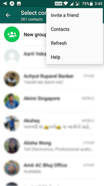 how to download contacts from android to iphone