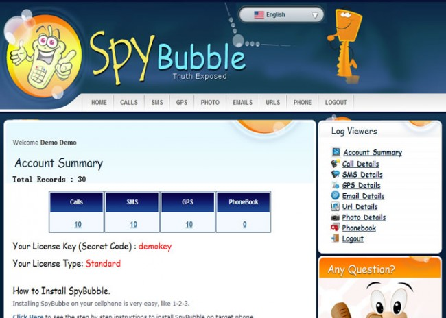 Spybubble free download software